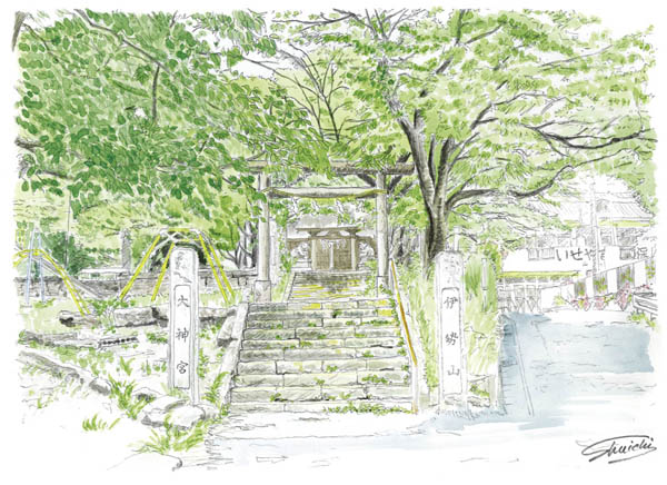 伊勢山大神宮(伊勢山神社)